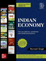 Indian Economy for Civil Services, Universities and Other Examinations | 12th Revised Edition Paperback